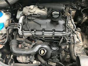 VW Jetta SE 1.9 TDI Auto *BREAKING* MK5/A5 1K5 06-11 Engine BXE 105 BHP Bare