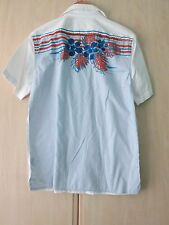 GAS COTTON SHORT SLEEVE SUMMER BEACH SHIRT SIZE SMALL (NEW WITH TAGS) RRP £40