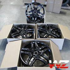22x10 Black Wheels Fit Mercedes Gl550 Gls Ml350 Ml500 Ml550 5x112 22 Rims Set