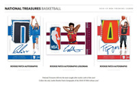 2018-19 PANINI NATIONAL TREASURES BASKETBALL RANDOM PLAYER 1 BOX BREAK