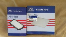 Local Stock Hyundai Genuine i30 GD (MY12-16, Petrol) Air filter, Aircon filter