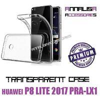 CUSTODIA TRASPARENTE HUAWEI P8 LITE 2017 PRA-LX1 COVER IN SILICONE TPU SLIM CASE