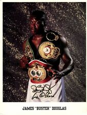 """JAMES """"BUSTER"""" DOUGLAS In-person Signed Photo"""