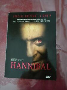 DvD Hannibal raro FUORI CATALOGO (In Italiano) come nuovo digipack 2 dvd affare!