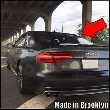 StanceNride Rear Roof Spoiler Window Wing (Fits: Audi S8 2013-2017 D4 type 4h)