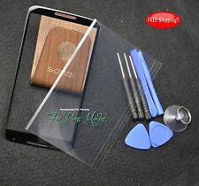 A++NEW Front Outer Screen Glass Lens+OCA Tape for Google Nexus 6 w/tools