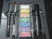 POP Beauty Pop Your Eye Shade Kit Bright Neon Eyes Palette Mascara Liner Brush