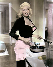 "JAYNE MANSFIELD THE GIRL CAN'T HELP IT 1956 8x10"" HAND COLOR TINTED PHOTOGRAPH"