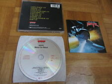 ANVIL Metal On Metal 1980s WEST GERMANY CD issue Attic signed