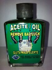 MYSTICAL / SPIRITUAL OIL (ACEITE) FOR SPELLS & ANOINTING 1/2 OZ REMOVE BAD LUCK