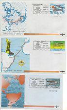 Enteros Postales  Aerogramas Años del 1981 al 84 completos Edifil 201/208  NL364