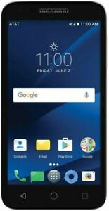 AT&T Alcatel CAMEOX 4G LTE with 16GB Memory Cell Phone Prepaid(ATT locked)