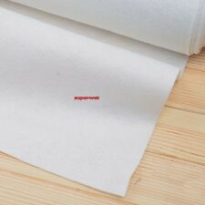 Iron On Fusible Interfacing Interlining Sewing Fabric White 200gsm Heavy 90cmX1m