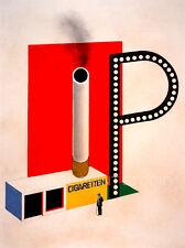 Cigaretten, 1924 Design for Kiosk Bauhaus Architecture Giclee Canvas Print 20x26