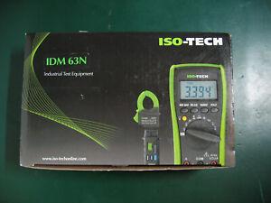 Iso-Tech IDM63N DMM Digital Multimeter 1 Year calibration + 1 Year Warranty