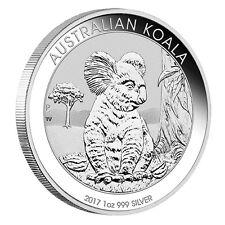 1 oz Silber Koala 2017 - 1 Dollar Australien Stempelglanz in Münzkapsel