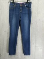 Lands' End Girls Skinny Jeans Dark Wash Stretch Size 16 NWOT
