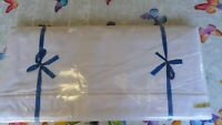 SET 2 French White Cotton  Large Bed Sheets  Vintage  UNUSED New 220W x 310cm