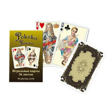 Rococo Russian Beautiful 36 Playing Cards. Brand New. Russische Spielkarten