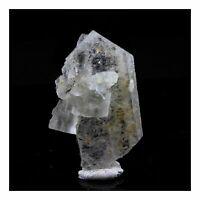 Fluorit + Baryt. 43.5 Ct. Fontsante Mine, Var, Frankreich
