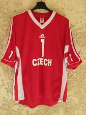 Maillot REPUBLIQUE TCHEQUE volley porté Martin HROCH ADIDAS vintage CZECH shirt