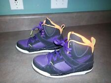 Jordan Flight 45 High (PS) Preschool Kids Black/Purple/Orange 384521-033 Size 2Y