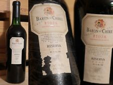 1986er barón de chirel-reserva-marques de riscal-Rioja-Top!!!