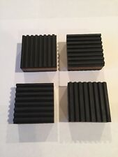"Anti Vibration Pads 4 Pack Speaker Vibration Isolation (2""x2""x 7/8"" )"