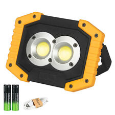 USB Rechargeable LED Work Inspection Light Waterproof Outdoor Lamp Worklight USA