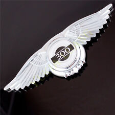 1x 3D Angel Wings 300 Emblem Car Front Hood Bonnet Sticker for Chrysler 300C