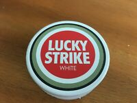 Rare Lucky Strike Snus Tin Can - Tobacco - Made in Sweden