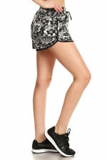Women's Shorts with Drawstring Waist Tie Floral Beach Boardshorts S/M NWT