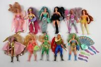 VINTAGE SHE-RA PRINCESS OF POWER LOT OF 11 W/PIECES