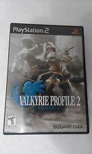 PS2 SONY PLAYSTATION 2 USA NTSC VALKYRIE PROFILE 2 : SILMERIA - SQUARE ENIX -