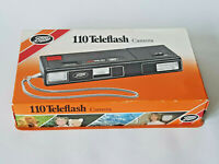 110 TELEFLASH Boots Vintage 1980s Point And Shoot Camera Tested Boxed EXCELLENT