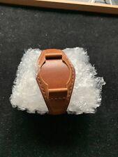 18mm Bund Strap Uhrarmband, Custom handmade Leder