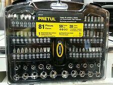 JUDA--81P Ratcheting screwdriver set Pretul 81 pieces