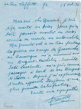 LE TENOR FERNAND FRANCELL EN 1924 / SON EXPÉRIENCE DE L'AVION