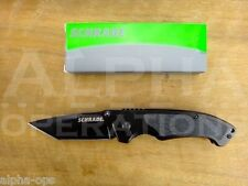 Schrade Folding Pocket Knife Tanto Survival Fishing Hunting EDC Camping Tool 208