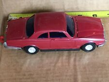 Vintage Lucky Toys Red Diecast Car