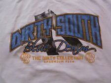 DIRTY SOUTH DS Blue Denim Jeans The Dirty Collection Premium Fit T shirt sz. 2XL