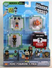 Disney Crossy Road Series 2 Mini Figurine 4 Pack Inc Mickey Mouse Nemo