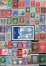 Timbres 1941 à 1942.   Du N°470 à 567.