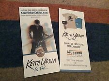 KEITH URBAN- COUNTRY HALL OF FAME EXHIBITION- RARE FLERS X 2