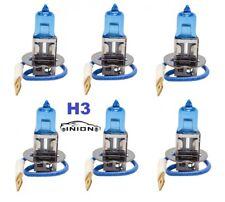6x H3 12V 55W Xenon H.I.D.  Birne Halogen blau beschichtet NEU