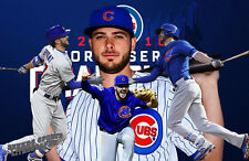 Chicago Cubs Lithograph print of  Kris Bryant World Champion 17 x 11