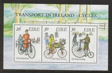IRELAND 1991 MNH MS798 EARLY BICYCLES MINISHEET