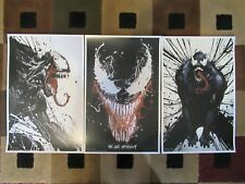 "VENOM  (11"" x 17"") Movie Collector's Poster Prints ( Set of 3 )"