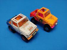 2 Hot Wheels Cal Custom Diecast Cars Jeeps 4x4 Dune Buggy