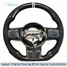 Carbon Fiber Flat Bottom Special Customized Steering Wheel for Jeep Wrangler